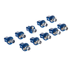 B8.5D 1-LED 10-20LM Blue Light LED-lamp voor in de auto (12V, 10st)