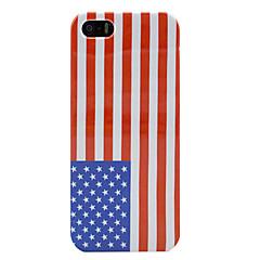 EUA Amerian bandeira nacional duramente a tampa do caso para o iphone 5/5s