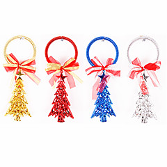 1PCS 20cm Christmas Tree&Stars Christmas Decoration Christmas Tree Ornament(Assorted Colors)
