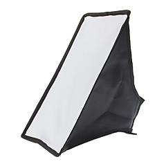 20x30 plegable universal de la cámara flash Softbox (Negro)