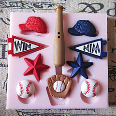 Baseball Hat Silicone Mold Fondant Molds Sugar Craft Tools Chocolate Mould  For Cakes