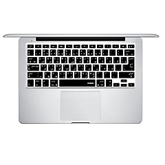 XSKN Silicon Laptop Keyboard Skin Cover for MacBook PRO MacBook Air Arabic Language Layout