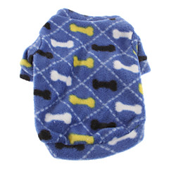 Invierno - Azul Polar Fleece - Abrigos / Camiseta - Perros - XS / M / S / L