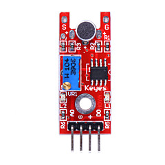 Modulo sensore suono vocale per Sound System Alarm - Rosso + Blu + Nero