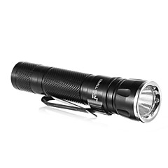SMALLSUN ZY-C89 Single-Mode Cree XP-E Q3 LED taskulamppu Clip (240LM, 1xAA, musta)