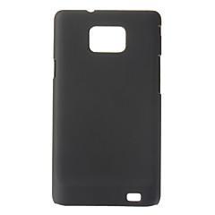 삼성 갤럭시 S2 I9100를위한 광택이없는 피부 단단한 플라스틱 뒤 케이스 덮개 + HD 스크린 보호자
