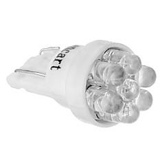 T10 149 W5W 7-LED 6000-6500K Cool White Light LED Pære til bil (12V)
