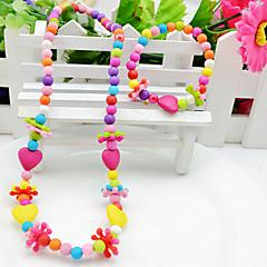 Sieraden 1 Ketting / 1 Armband Feest Acryl 1 Set Meisjes Zoals in Afbeelding Giften van het Huwelijk
