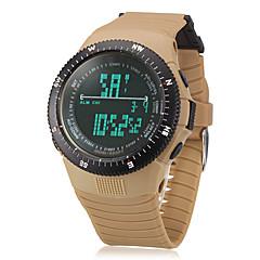 Hombre Reloj Militar Digital LCD / Calendario / Cronógrafo Banda Azul / Verde / Caqui Marca-