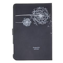 Dandelion Pattern Black Case for iPad mini 3, iPad mini 2, iPad mini