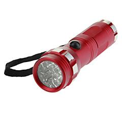 14xLED Mini loisteputki taskulamppu Torch (110LM, 3xAAA, Red)