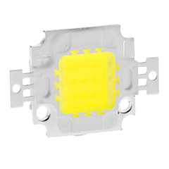 DIY 10W 820-900LM 900mA 6000-6500K Cool White Light Integrated LED Module (9-12V)