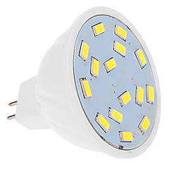 5W Spot LED MR16 15 SMD 5630 460 lm Blanc Froid DC 12 V