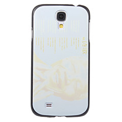 Memorying Nelson Mandela Poetry Pattern Plastic Hard Back Case Cover for Samsung Galaxy S4 I9500