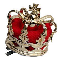 크라운 여왕 동화 페스티발/홀리데이 할로윈 의상 패치 워크 빈티지 크라운 할로윈 카니발 남여 공용 합금