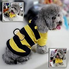 jumpsuits abejas lindas con capucha para mascotas perros