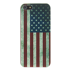 Retro American Flag PC Hard Back Cover for iPhone 5/5S