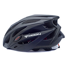 MOON Cycling Black PC+EPS 25 Vents MTB Protective Helmet