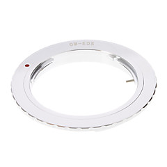 OM-EOS Camera Lens Adapter Ring (Argent)