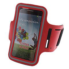 Capa de Couro BJ00137 Sports Armband PU para Samsung Galaxy S3/S4 I9300/I9500