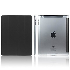 ENKAY tannpirker Texture Beskyttende PU Leather Smart sak for iPad 2/3/4 (assorterte farger)