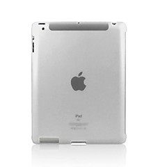 ENKAY Protective Plastic Crystal Back Case Cover for iPad 2/3/4 (Assorted Colors)