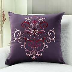Polyester Pillow With Insert , Floral Euro