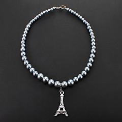 Con estilo de la torre Eiffel collares pendientes para Mascotas Perros