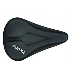 Bike Saddle Cover Silica Gel Slotted Bicycle Saddle Cushion
