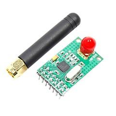 (Arduino를위한)에 대한 NRF905 433/868/915mhz 무선 모듈 W / 안테나 (공식 (Arduino를위한) 보드와 함께 작동) (2.7 ~ 3.3V)