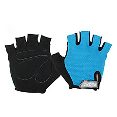 FJQXZ® Sports Gloves Men's / Unisex Cycling Gloves Spring / Summer / Autumn/Fall Bike Gloves Fingerless GlovesRubber / Cotton Fibre /