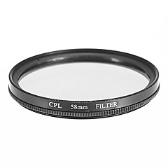 CPL filter voor camera (58mm)