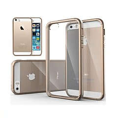 vormor® ultra transparent bagside Case for iPhone 5 / 5s (assorterede farver)