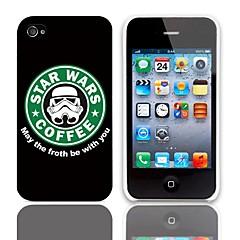 Forth Be With You suunnittelu Hard Case 3-Pack Näytön suojainten iPhone 4/4S