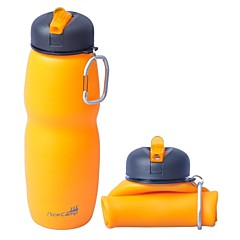 AceCamp aire libre 650ml multifuncional plegable de silicona botella de agua 1544