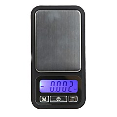 100g / 0,01 g Elektronisk Digital Scale Telefon Style Pocket Diamond Vägning Balance LCD-display