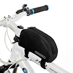 Bisiklet Çantası 1.5LBisiklet Çerçeve Çantaları Su Geçirmez Yansıtıcı Şerit Kaymaz Giyilebilir Bisikletçi Çantası 600D PolyesterBisiklet