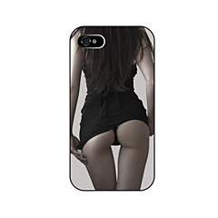 Sexy Girl Pattern Plastika Hard Case za iPhone 5/5S