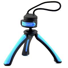"""Fotopro SY310 Mini tableau trépied pour appareil photo numérique avec 1/4 """"interface universelle de vis - Bleu + Noir"""