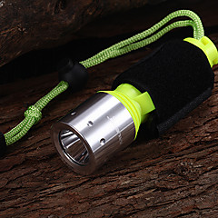 Diving Flashlights/Torch LED 1 Mode 800 Lumens Waterproof Cree XM-L T6 18650 Multifunction - Others Aluminum alloy