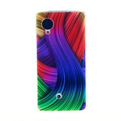 Για Θήκη LG Με σχέδια tok Πίσω Κάλυμμα tok Γραμμές / Κύματα Μαλακή TPU LG LG Nexus 5 / Other