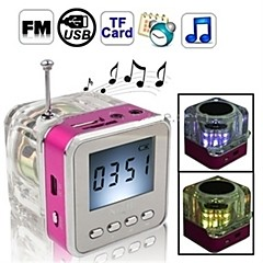 Wireless speaker 2.0 channel Portable / Outdoor / Support FM Radio / Mini / Support Memory card