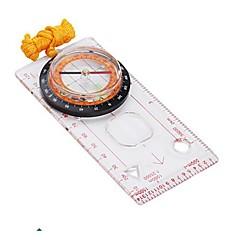 Professionell Karta Mät Kompass med Pendel-Transparent