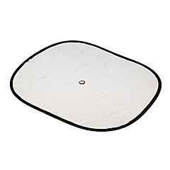 New 2Pcs Car Side Windows Rear Windshield Net Sun Shield Cover