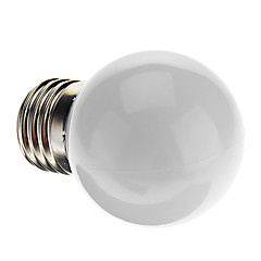 0.5W E26/E27 LED Globe Bulbs G45 7 Dip LED 50 lm Natural White Decorative AC 220-240 V