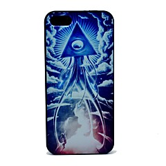 Space Robot Pattern Hard Case for iPhone 5/5S