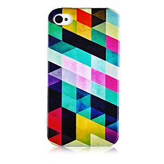 Colorful Geometry Figure Silicone Soft Case for iPhone5/5S