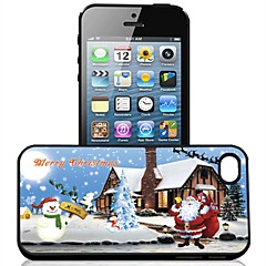 3D Santa Claus Pattern Protective Shell for IPhone4/4S