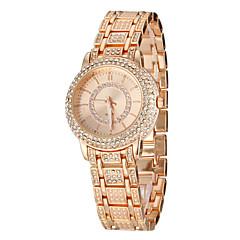 Women's Dress StyleSteel  Band Quartz Wrist Watch (Assorted Colors)