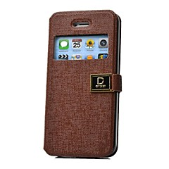 PU Leather Waist Bag Style Protective Bag for iPhone 4S/5/5S (Assorted Colors)